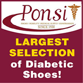 Largest Selection of Diabetic Shoes