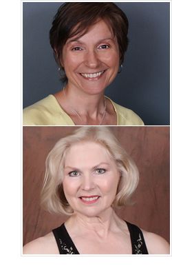 Donna Grote (top), Lynn Patterson (bottom)